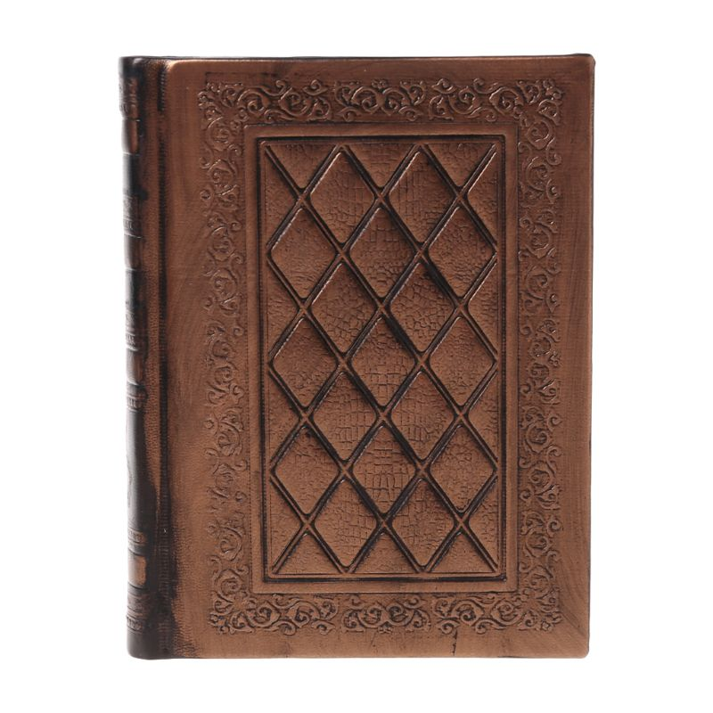 Retro Vintage Journal Diary Notebook Leather Blank Hard Cover Sketchbook Paper Stationery Travel Gift
