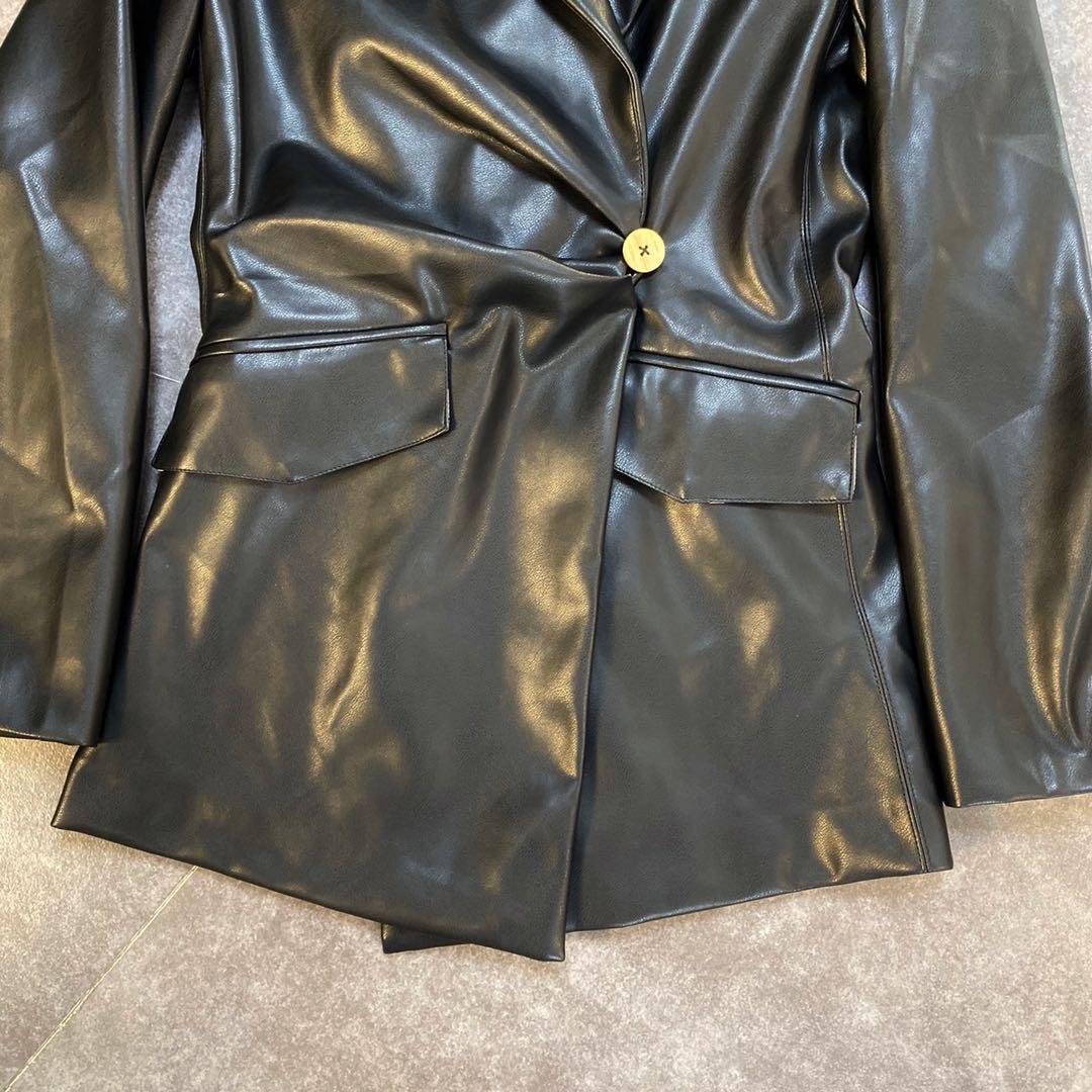 Women Faux Leather Jackets Vintage Black Motorcycle Jacket Coat Women Casual Fashion Women Winter Pu leather Coats 2020 New enlarge