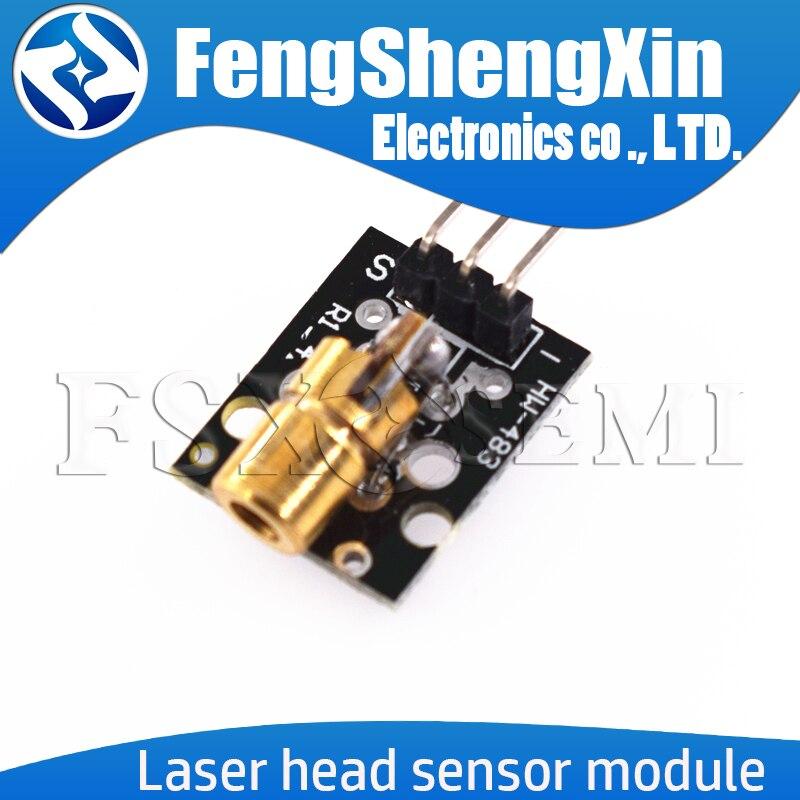 KY-008 650nm Laser sensor Module 6mm 5V 5mW Red Laser Dot Diode Copper Head