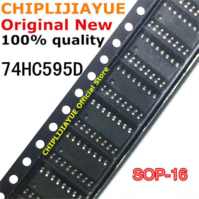 10-20 piezas 74HC595 SOP16 74HC595D SOP SN74HC595D SOP-16 SMD nuevo y original IC Chipset