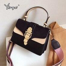 YBYT mode petit sac à bandoulière pour femmes 2020 nouveau haute qualité en cuir PU femmes mini sacs à main de luxe sac à main femme sac à bandoulière