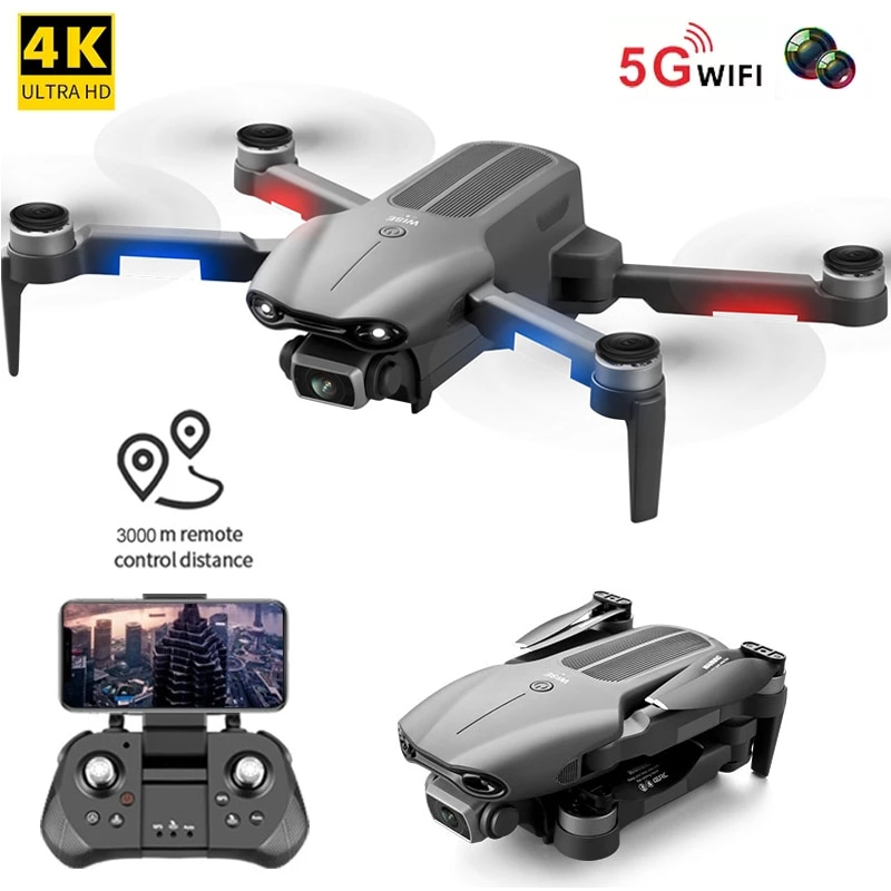 F9 GPS Drone 6K Camera Dual HD Professional Aerial Photography Brushless Foldable RC Quadcopter Remote Distance 3000M Dron