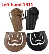 TOtrait-palette tactique authentique, haute qualité militaire, adaptée à la poitrine, à la taille, aux jambes, Molle holster pour gaucher 1911