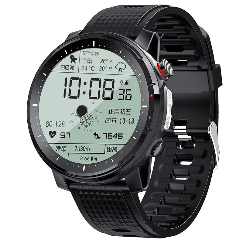 Timewolf Smart Clock Men Android 2021 IP68 Waterproof Bluetooth Music Clock Fitness Tracker for Apple Reloj Hombre Smartwatch