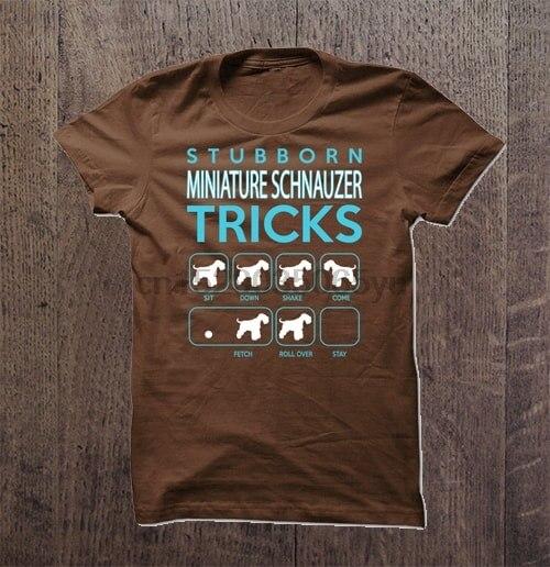 Camiseta de Schnauzer en miniatura para hombre