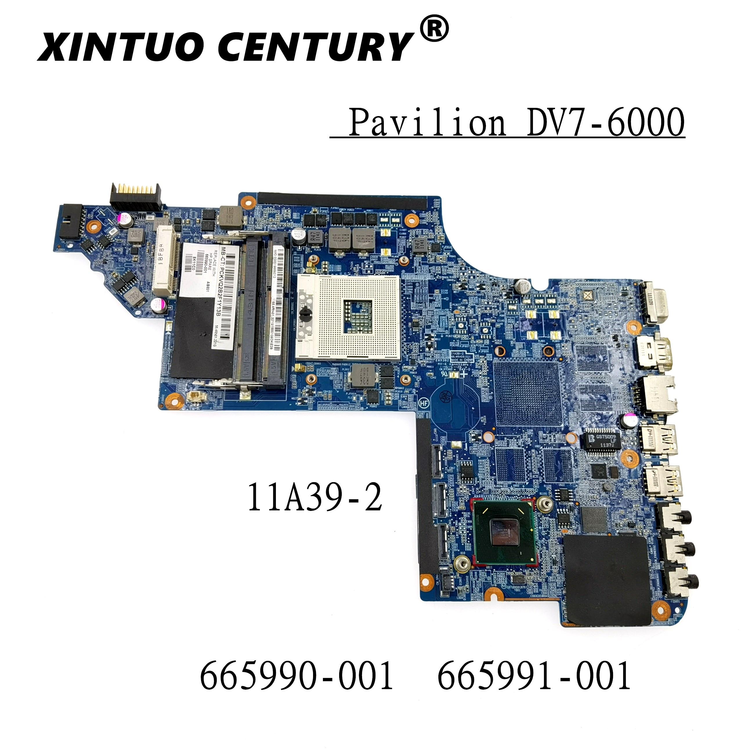 Placa base para ordenador portátil NOKOTION 665991-001 639391-001 para HP Pavilion DV7...