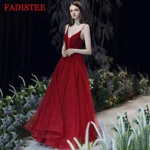 New Arrival Sexy V-neck Spaghetti Straps Evening Dresses Robe De Soirée De Mariage Свадебное платье Vestidos Formales Lace-up