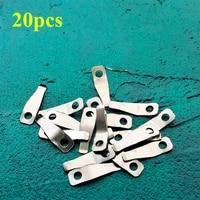 20pcslot kerosene lighter universal replacement silver metal shrapnel fit for zp lighters repair service inner part wholesale