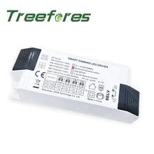 Fuente de alimentación conmutada LED DALI Dimmable 3W 6W 10W 15W 20W 24W 30W 150mA-700mA Digital transformador