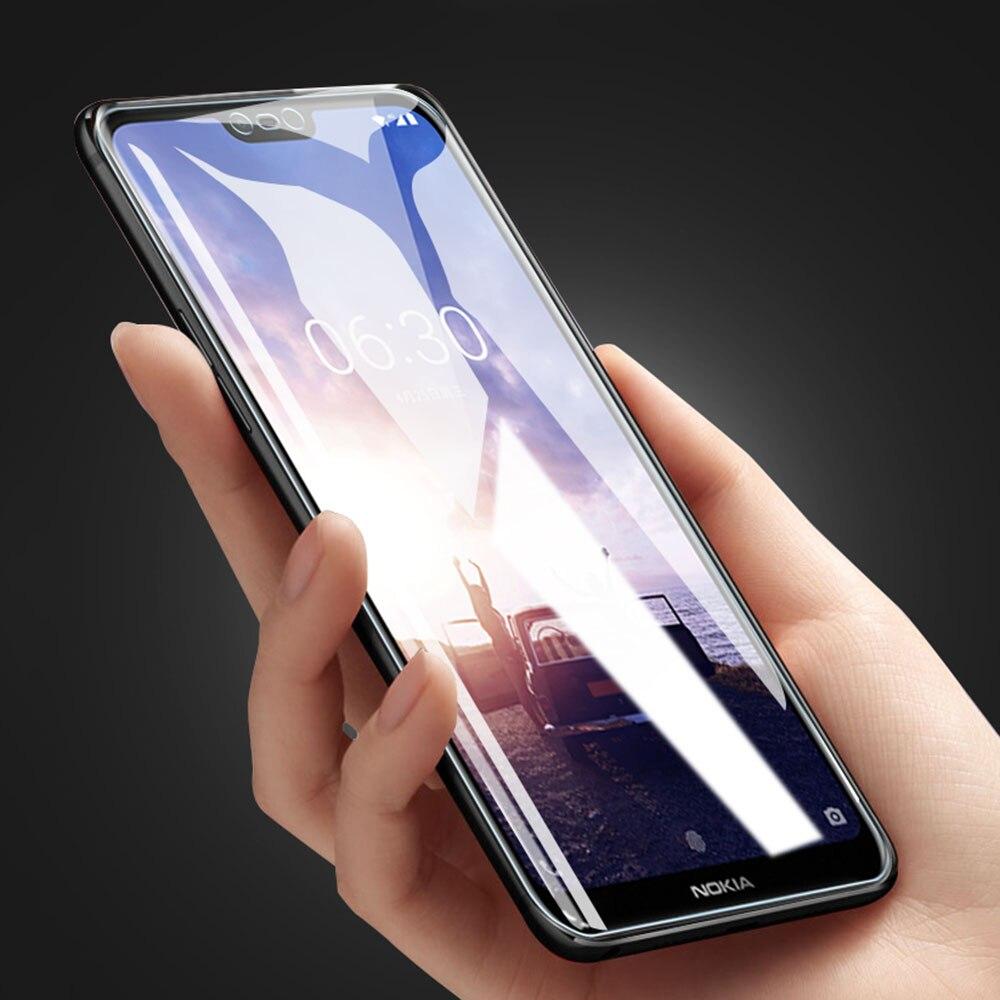 6.0For Nokia X3 Protector de pantalla para Nokia X3 X6 X71 X5 X7 3,1, 6,1 1 5,1 7 8,1, 7,1 más de 2018 de 2019 protector de pantalla del teléfono
