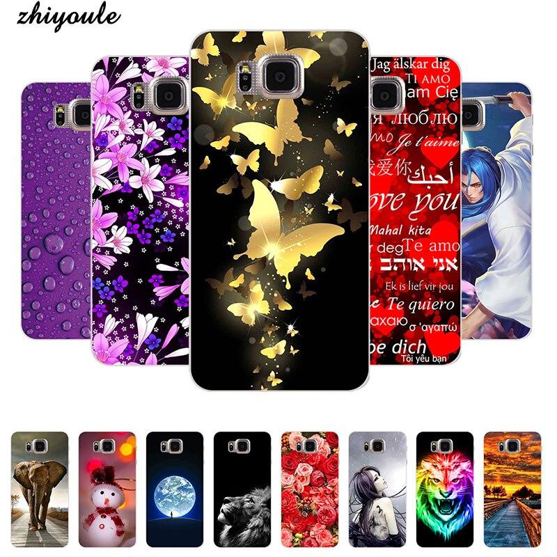 Beautiful Original Plastic Printed Cartoon Phone Case For Samsung Galaxy Alpha G850 G850F G8508S Back Cover Fashion Phone Cases