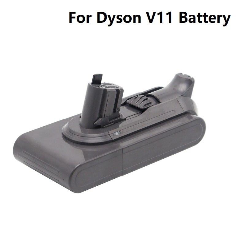 3600mAh 4200mAh 4800mAh ل Dyson 25.2V V11 SV15/SV16 بطارية المطلق V11 الحيوان ليثيوم أيون مكنسة كهربائية بطارية قابلة للشحن