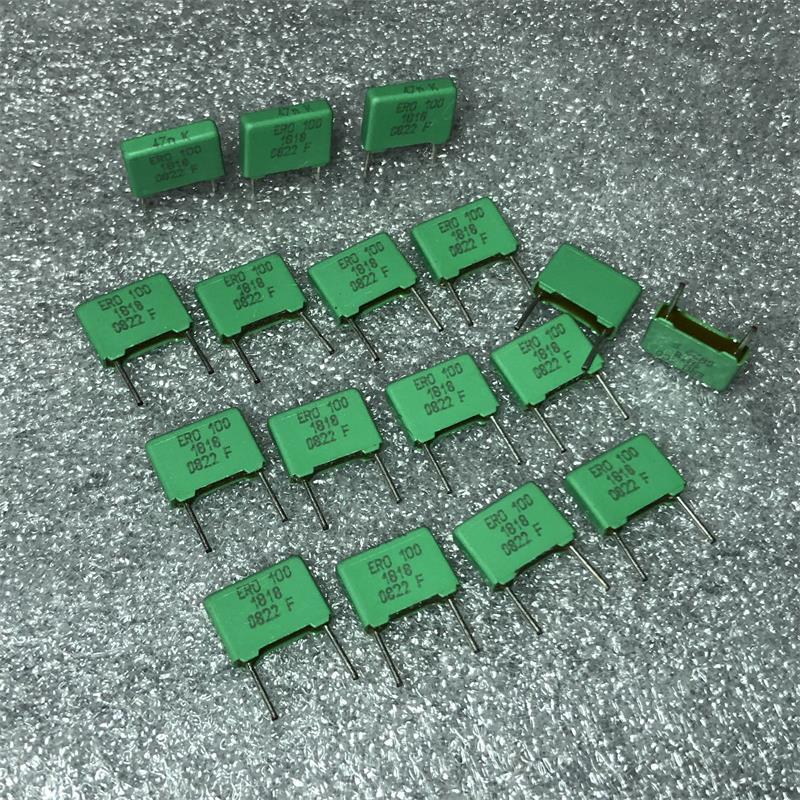 Marka yeni Ero yeşil Elixir 0.047uf100vdc 473 bakır ayak bir ateş var Film kapasite 7.5 Pitch elektrolitik kondansatör