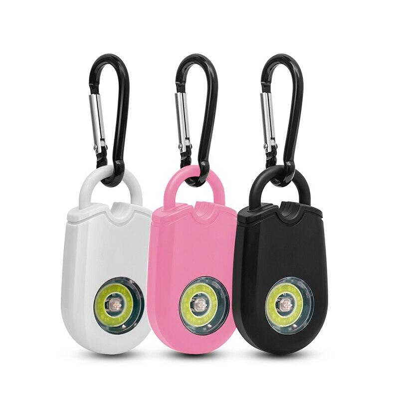 Персональная мини-сигнализация для самообороны, аварийная охранная сигнализация 120 дБ, звуковая сигнализация