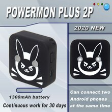2020 POWERMON 2P Armband Für Pokemon gehen Plus Armband Armband Gerät Für IOS Für Android Manuelle/Auto fangen version