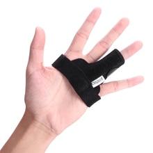 CLISPEED 1PC Finger Splint Adjustable Support Brace Fixing Belt For Index Finger Ring Finger Pinky Finger Trigger Thumb