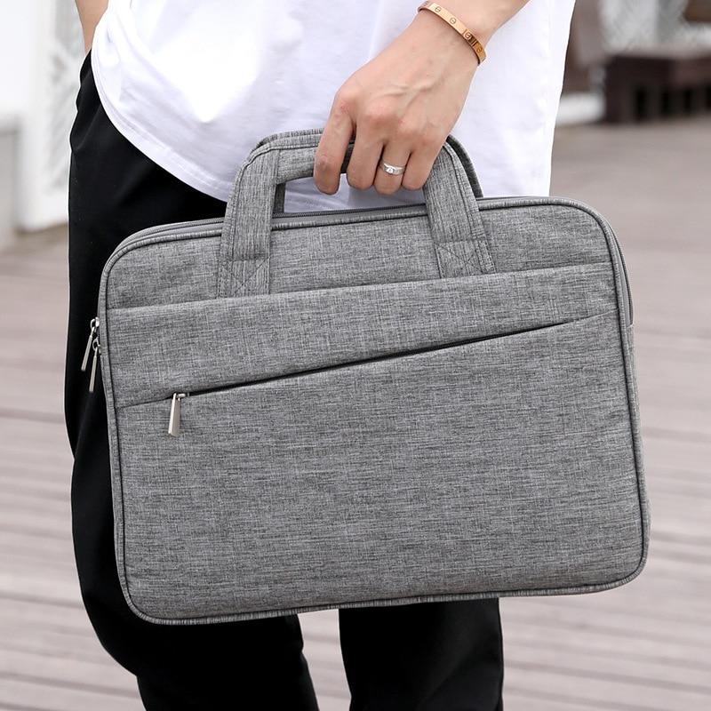 New simple men's briefcase 15.6-inch laptop bag business leisure handbag laptop bags for men  document bag
