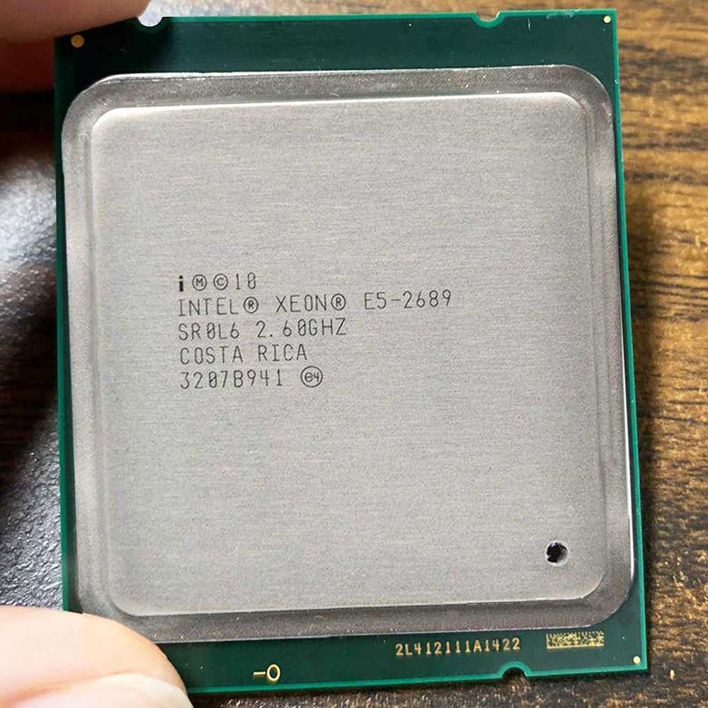 Intel Xeon E5 2689 E5-2689  LGA 2011 2.6GHz 8 Core 16 Threads CPU Processor suitable X79 motherboard