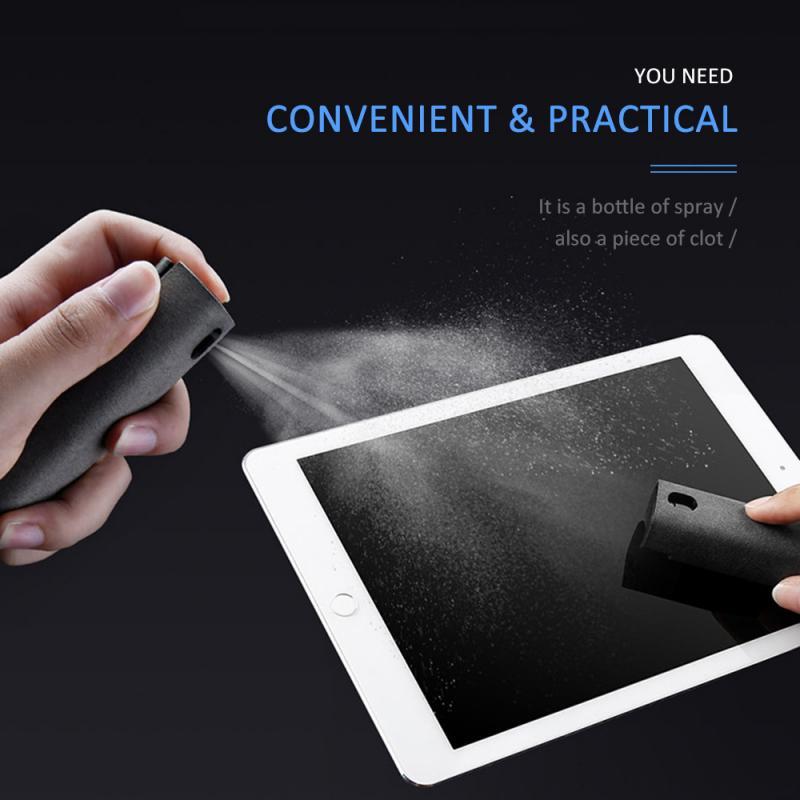 Limpiador portátil de pantalla móvil tableta teléfono PC Spray de limpieza de pantalla práctico y cómodo limpiador de pantalla de teléfono