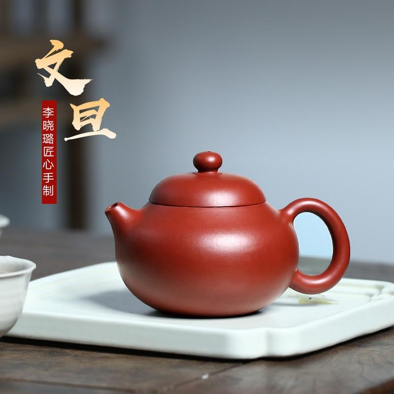 Chang tao 】 yixing منزلية موصى بها خام dahongpao xiao-lu li وعاء بوميلوس يدوي نقي 190 سم مكعب