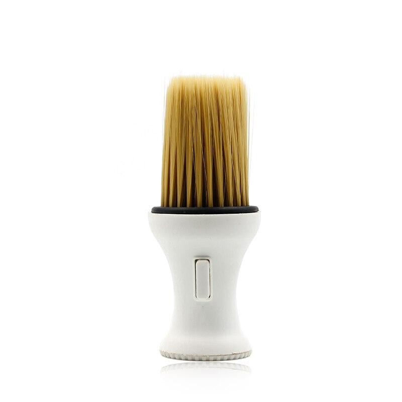 1 piezas pelo salón de peluquería cuello cepillo limpio herramientas de corte de pelo profesional de afeitar cepillo de pelo suave cuello Duster