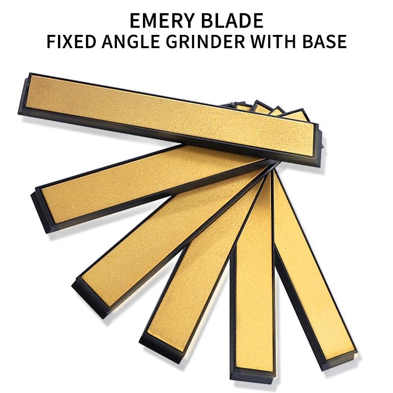 Apontador de diamante afiador de faca de pedra grit faca afiar cozinha frinding lâmina conjunto de ferramentas de pedra barra pedra de afiar
