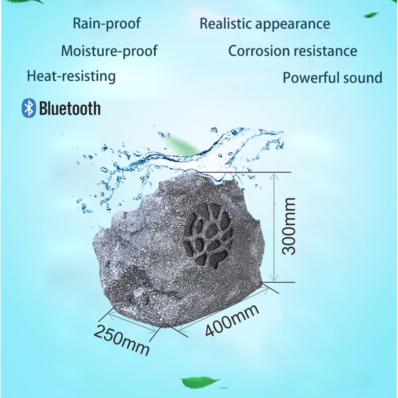 341501 impermeable 30W 8 ohm activo al aire libre inalámbrico Bluetooth jardín Rock altavoz con amplificador de Clase d