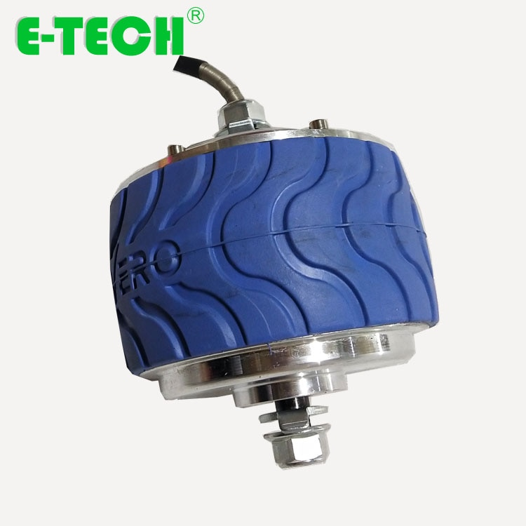 4 pulgadas 24 V/36 V 200W max 6-8 km/h engranaje planetario cubo rueda del motor