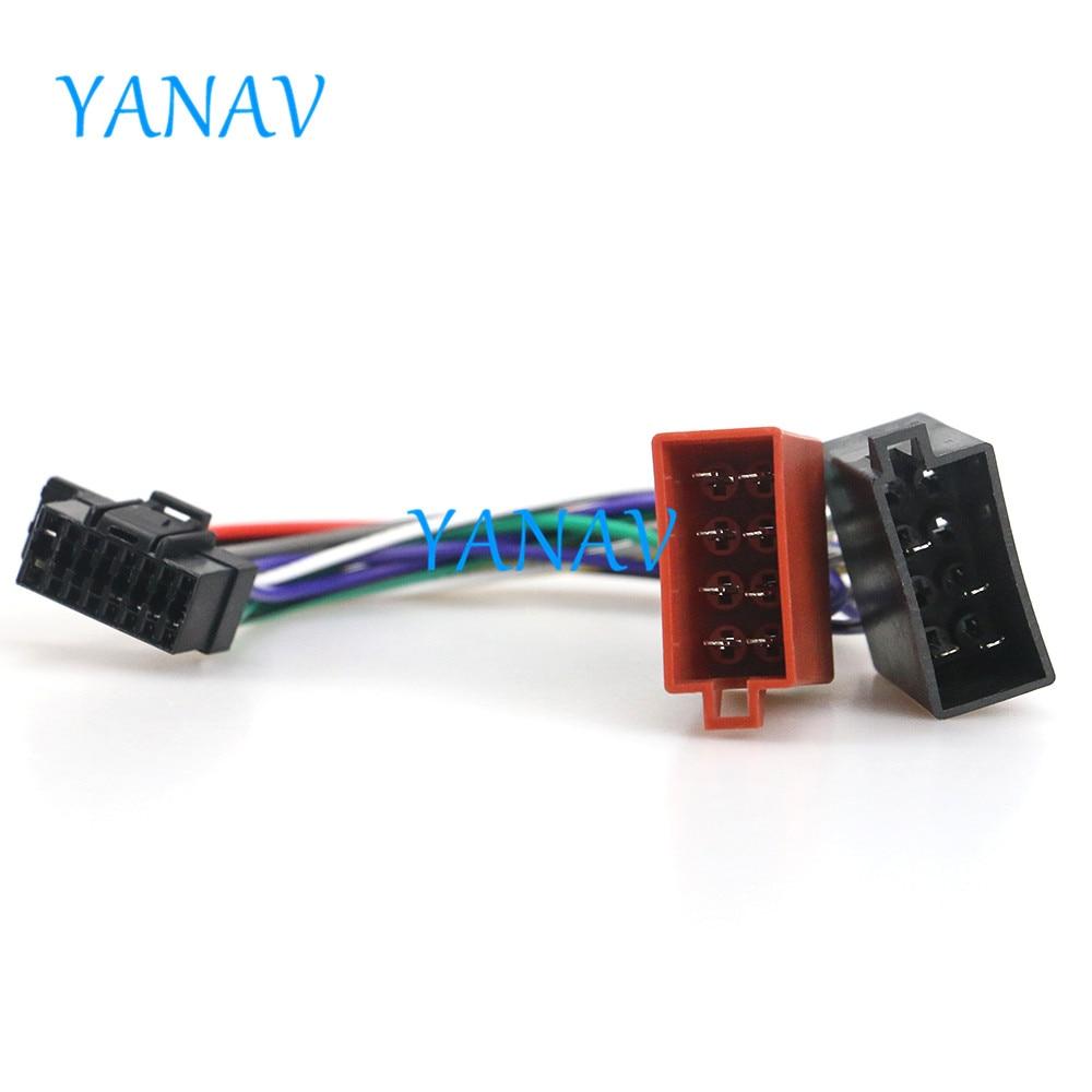 15-110 автомобильный ISO жгут проводов для SONY CDX стерео радио провод адаптер вилка проводка соединитель CableCar стерео радио ISO стандарт