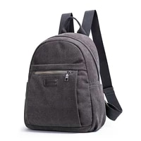 unisex webbing school students backpack retro casual canvas backpack for women outdoor travel zipper mens backpack nootbook bag