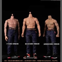 16 soldier doll clothing trend men and women hip hop jeans model pants 12 inch movable doll