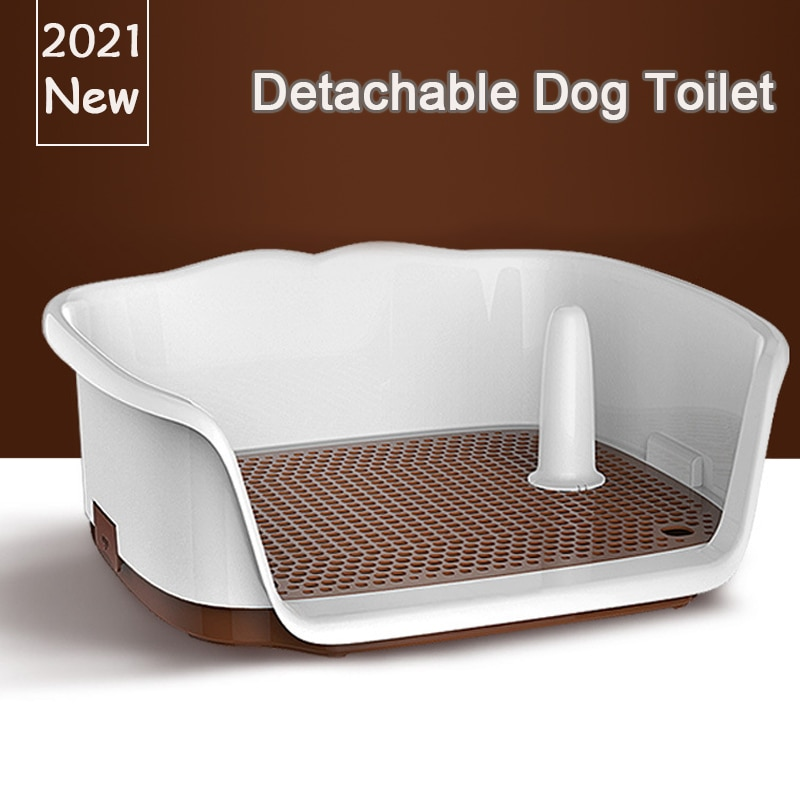 AliExpress - Portable Teach Cat Dog Toilet Plastic Double Layer Dog Pad Training Cat Puppy Toilet Pee For Small Dogs Pet Self Cleaning Toilet
