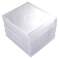 Etuis transparents 10 pieces  boites de rangement portables  paquets de bricolage pour Home Cinema Studio