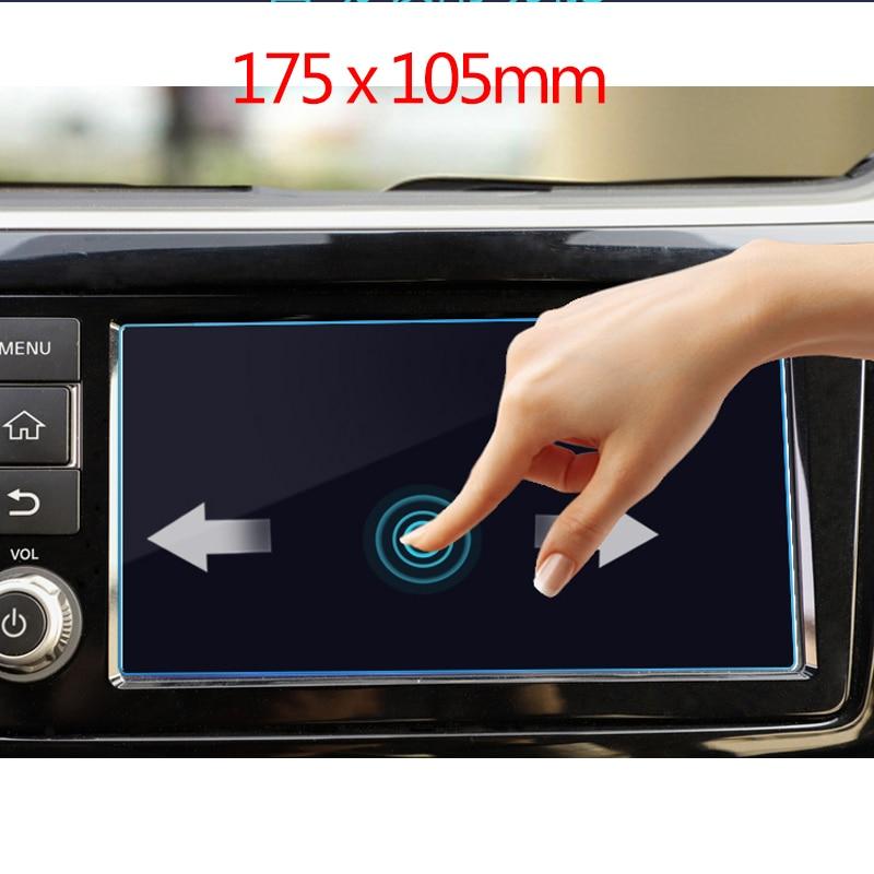 8 дюймов 175x105 мм для Nissan Patrol 2017 2018 автомобильный навигационный экран протектор центральный дисплей защитная пленка из закаленного стекла