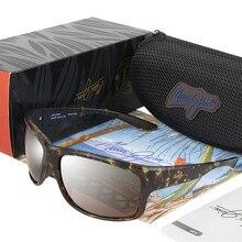 SOUTHERN CROSS BRAND DESIGN Maui Jim Polarized Sunglasses Men Mirror Fishing Eyewear Square Sunglass