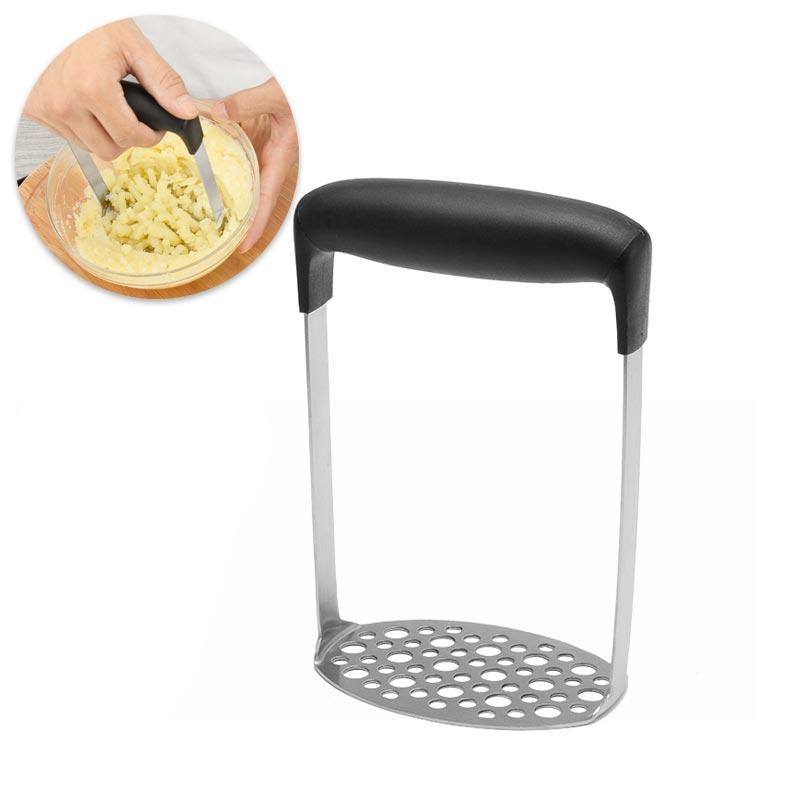 1PC Stainless Steel Potatoes Mud Pressure Mud Machine Potato Masher Ricer Fruit Vegetable Tools Kitchen Gadgets Accessories