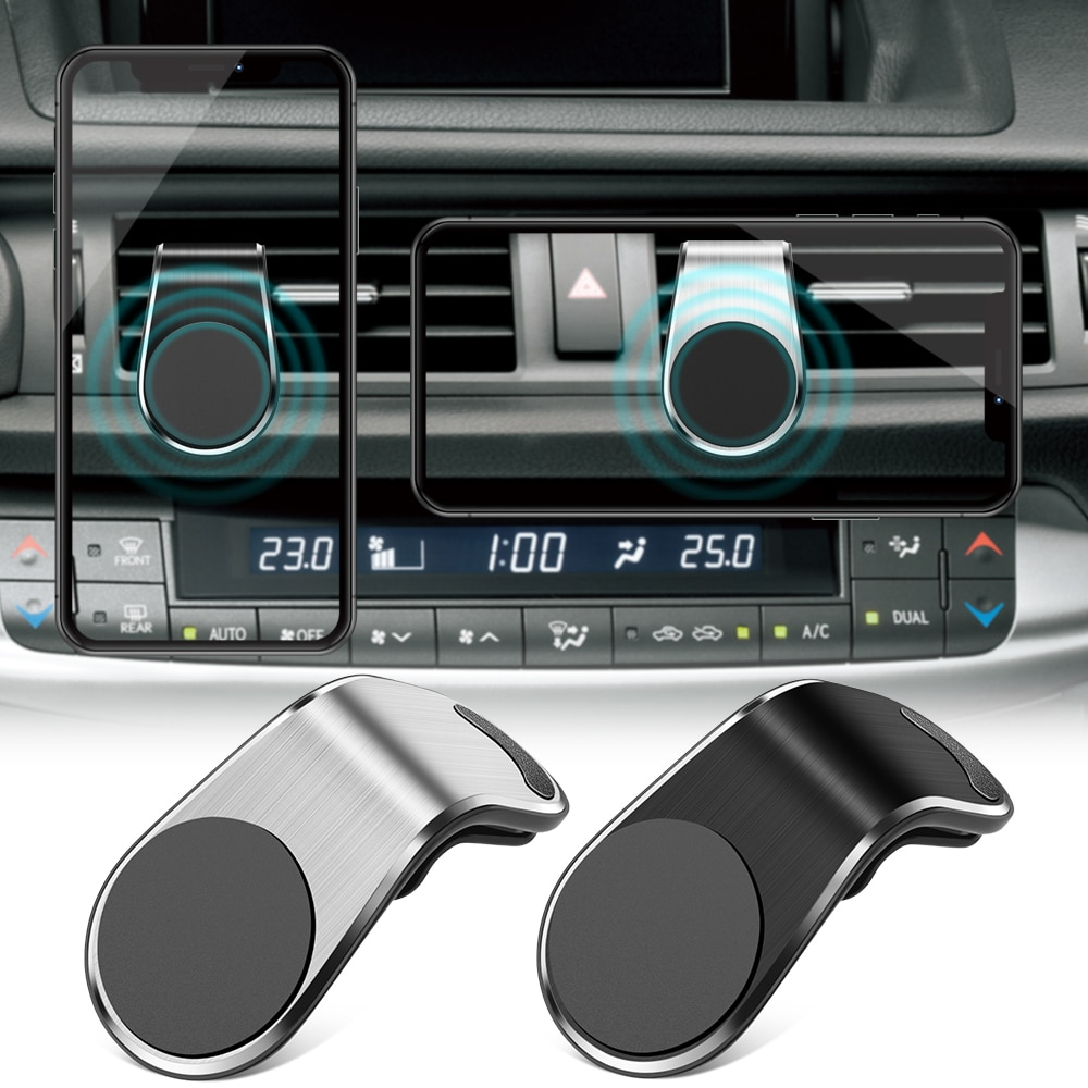 Hava firar dağı standı manyetik araç telefonu tutucu Citroen C2 C3 C4 C5 C4L DS3 DS4 DS5 DS6 VOLVO S60 XC60 v60 V70 V90 CX90