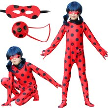 Halloween dame filles fantaisie Bug femmes adultes Cosplay combinaison Costumes enfants Spandex dame costumes bug pour enfants Costumes perruque sac