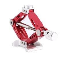 HOT Aluminum Alloy Metal Adjustable Jack Stand Repair Rack for 1/10 Scale Off-road Crawler RC Car RC4WD D90 SCX10 ti