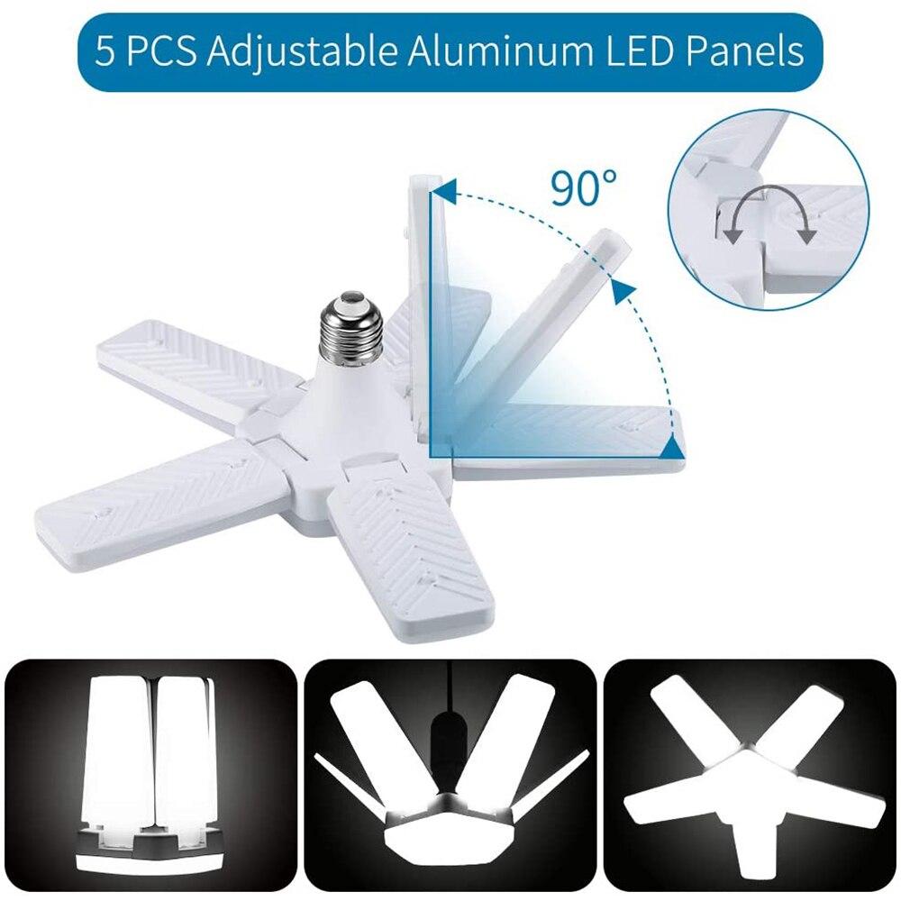 Светодиодный гараж светильник s деформируемая игрушка светодиодный гараж потолочный светильник s, гараж, светодиодный светильник, 5 панели ...