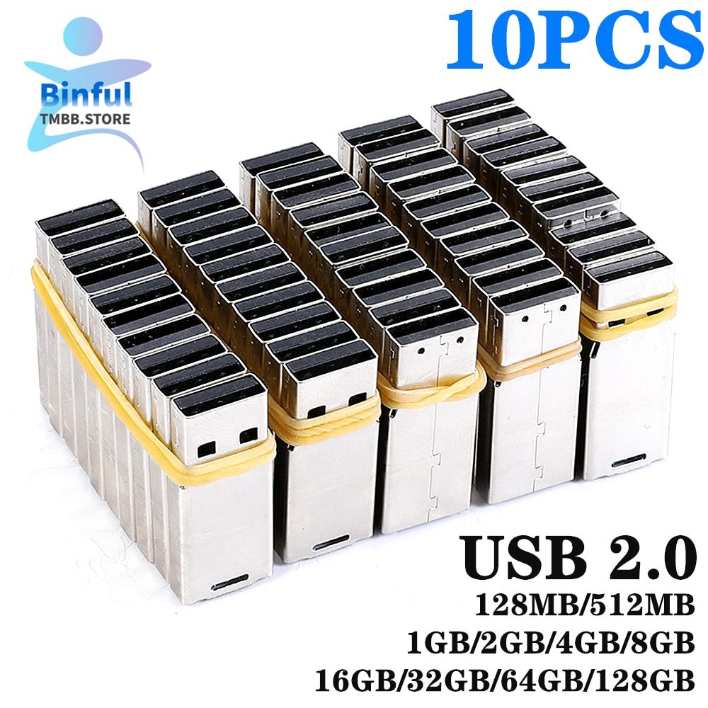 10PCS wholesale UPD Chip USB 2.0 chip 2GB 4G 8GB 16GB 32GB 64GB 128GB pendrive memory disk flash short universal board Udisk DIY