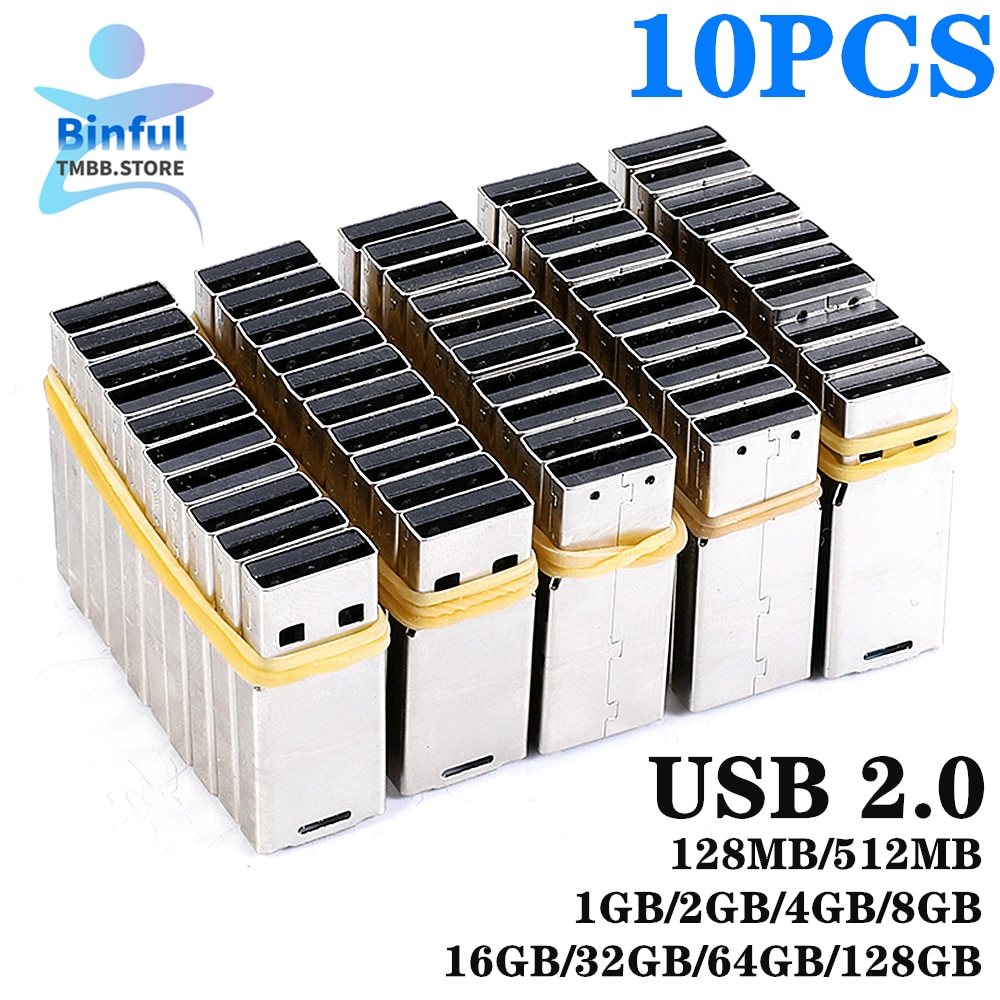 ¡Venta al por mayor! ¡10 Uds! Chip USB 2,0 UPD, chip 2GB 4G, 8GB, 16GB, 32GB, 64GB, 128GB, memoria USB flash, placa universal corta, Udisk DIY