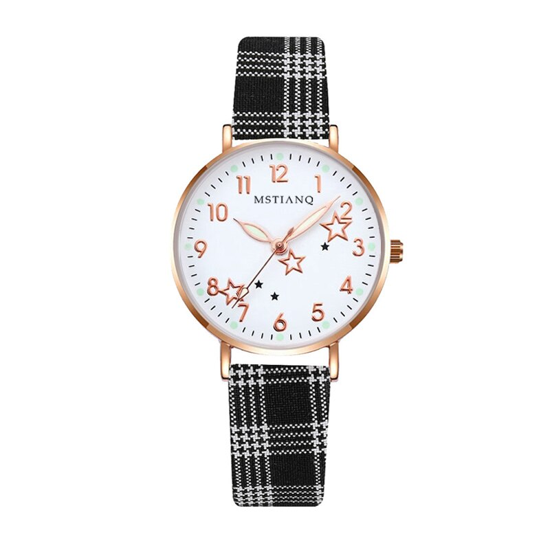 Watch Women Fashion Simple Small Dial Ladies Wrist Watches Luminous Women Watches Casual Leather Str