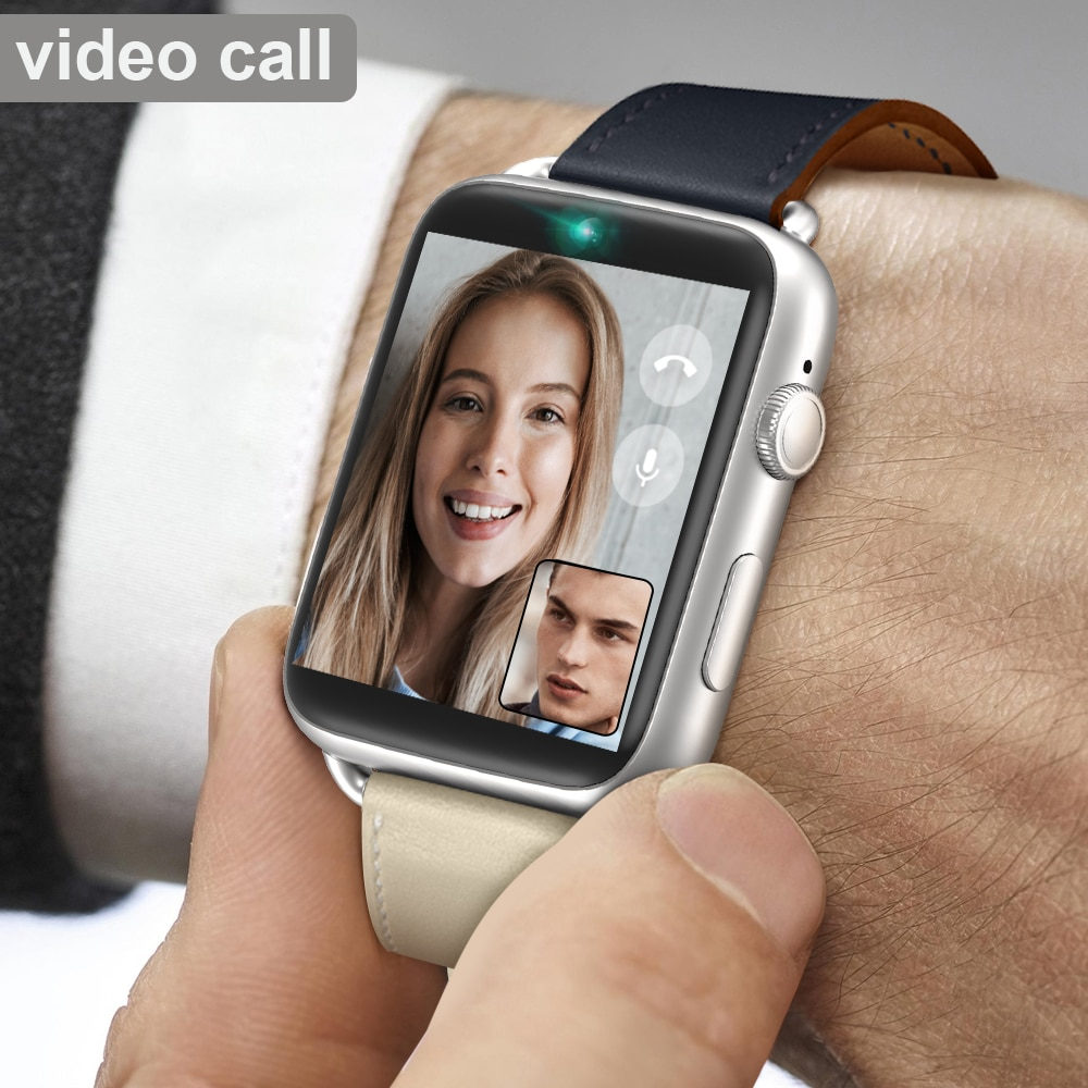 Get 4G Smart Watch Android 7.1 1.88 Inch 360*320 Screen 3GB + 32GB GPS WIFI 780mah Big Battery Smartwatch Phone