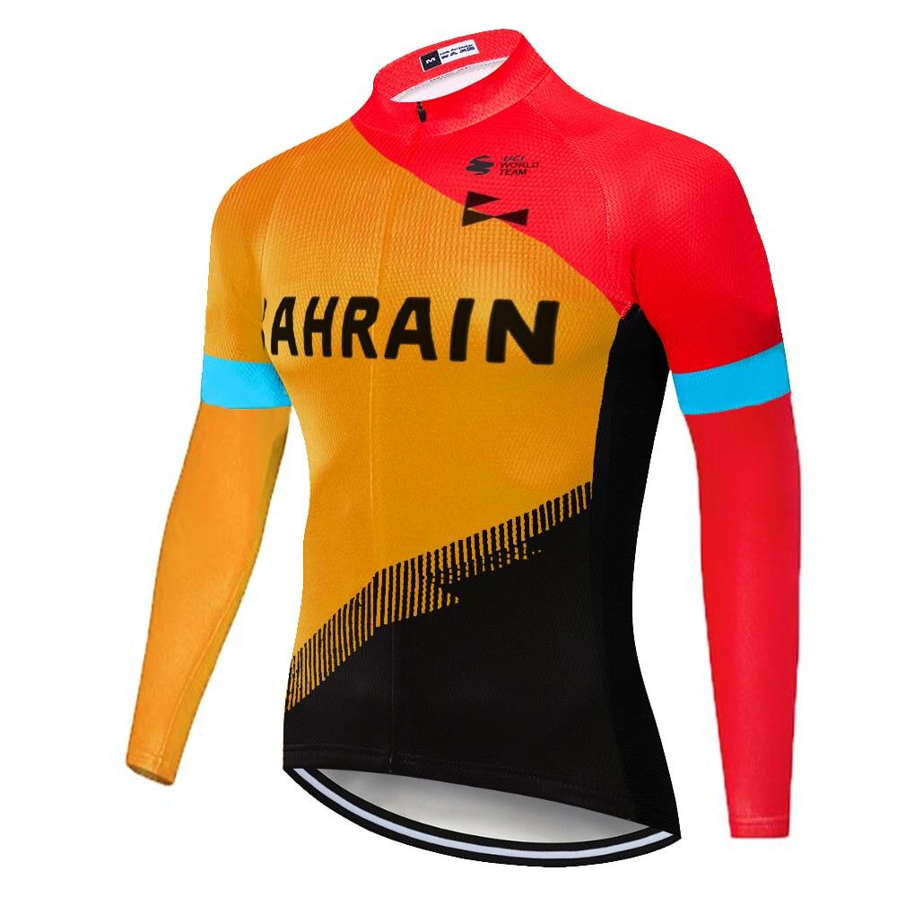 Pro team-Camiseta de ciclismo mclarening para el verano, primavera 2020, NO térmica, de manga larga