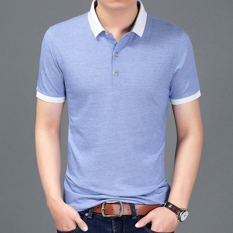 T-shirt male Korean version of the trend of the summer new half-sleeve shirt shirt men's printing short sleeve