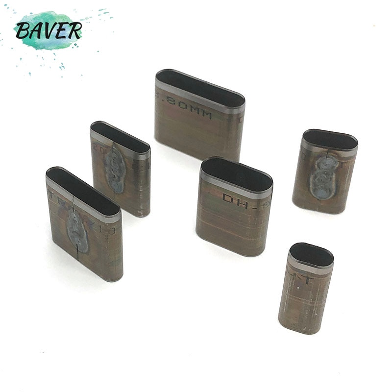 Leather Craft Belt Band Oval Hole Die Cut Mould Punching Tools Japan steel blade strap oblate shape Cutter handmade Diy