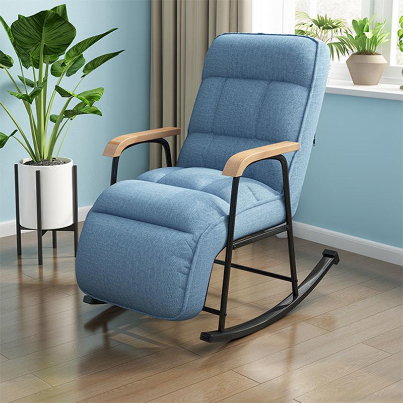 صالة كرسي أريكة استرخاء كرسي واحد كسول مسند الظهر غرفة نوم صغيرة أريكة كرسي شرفة الترفيه هزاز كرسي متأرجح