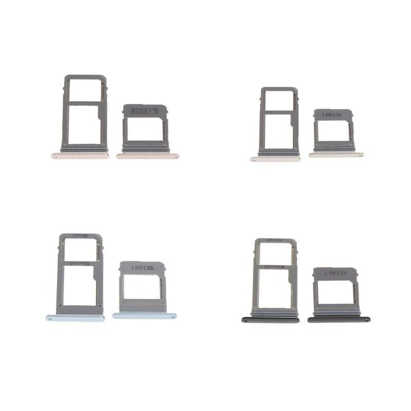 Bandeja de tarjeta SIM trasera A5 A7 2017 para Samsung Galaxy A520 A720, adaptador de tarjeta Sim, ranura para tarjeta SD, versión única Dual