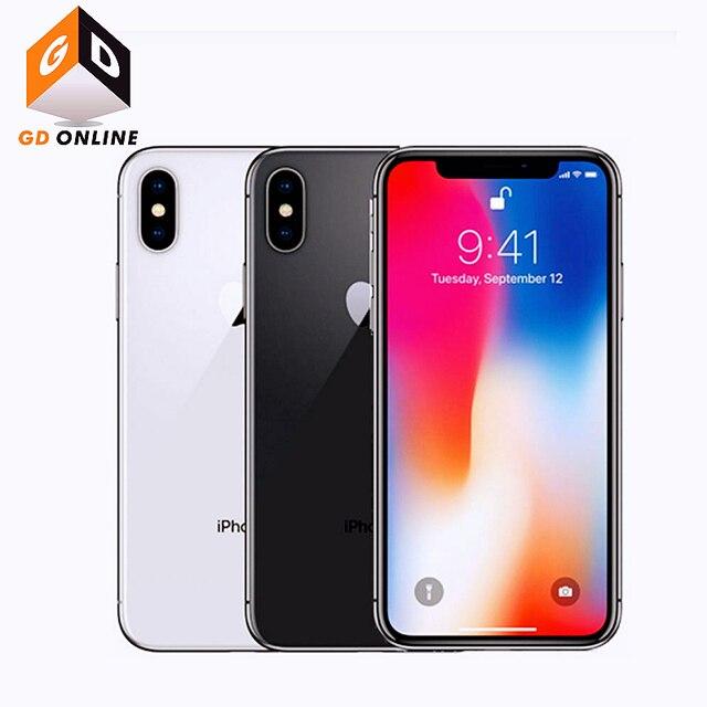 "Apple iPhone X RAM 3GB ROM 64/256GB Face ID 4G LTE 5.8"" A11 Bionic Hexa Core Full Screen Smartphone Original Unlocked Cell Phone 6"